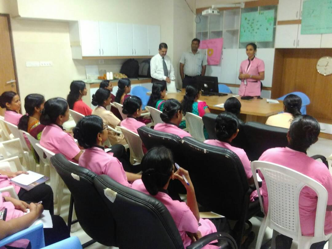 Safe Injection Practices at COSMOPOLITIN HOSPITAL TRIVANDRUM