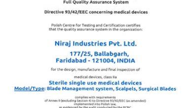 Niraj CE Certificate