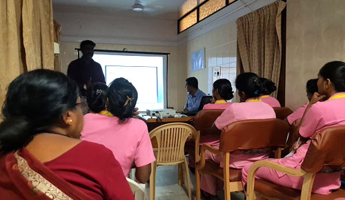 Conducted CME at Latha Hospital, Davangere, Karnataka on Subject Needle Stick Injury