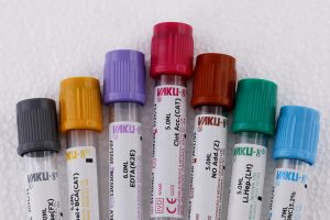 Decoding the Colour Codes of Evacuated Blood Collection Tubes